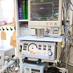 麻酔器 麻酔モニター<br>人工呼吸器